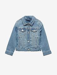 GAP - Kids Icon Denim Jacket - denimjakker - light indigo 1 - 0