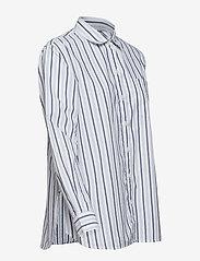 GAP - Stripe Boyfriend Shirt in Poplin - pitkähihaiset paidat - navy stripe - 3