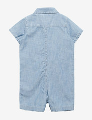 GAP - Baby Star Denim Shorty One-Piece - lyhythihaiset - medium wash - 1