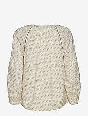 GAP - Embroidered Print Peasant Blouse - pitkähihaiset puserot - white dots - 1