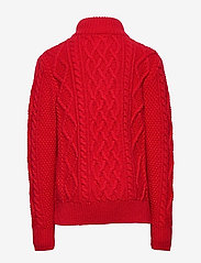 GAP - Kids Cable-Knit Mockneck Sweater - neuleet - modern red 2 - 1