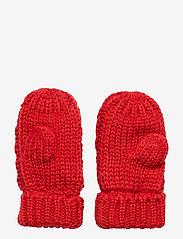 GAP - Toddler Cable-Knit Mittens - käsineet - modern red 2 - 1