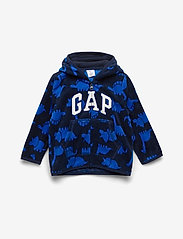 GAP - Baby Brannan Bear Gap Logo Sweatshirt - fleece-vaatteet - navy uniform - 0