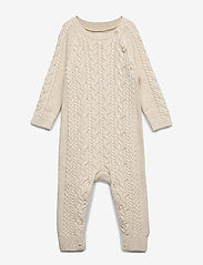 GAP - Baby Cable-Knit One-Piece - pitkähihaiset - french vanilla - 0