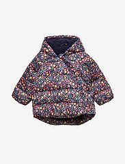 GAP - Baby ColdControl Max Kimono Jacket - untuva- & toppatakit - navy floral - 0