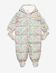 GAP - Baby ColdControl Ultra Max Down Snowsuit - talvihaalari - white floral print - 0