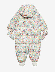 GAP - Baby ColdControl Ultra Max Down Snowsuit - talvihaalari - white floral print - 1