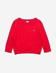 GAP - Toddler Brannan Bear Sweater - svetarit - pure red v2 - 0