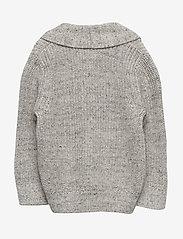 GAP - Toddler Shawl-Collar Cardi Sweater - neuletakit - light heather grey - 1