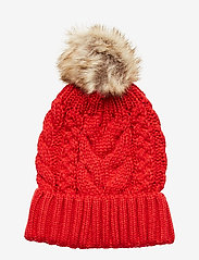 GAP - Kids Cable-Knit Pom Beanie - hatut - modern red 2 - 1
