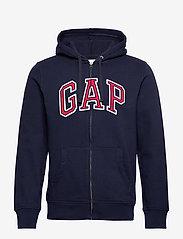 GAP - Gap Arch Logo Hoodie - hoodies - tapestry navy - 0