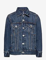 GAP - Kids Denim Icon Jacket - denimjakker - medium wash - 0
