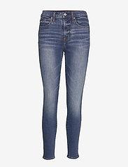 GAP - High Rise True Skinny Jeans With Washwell™ - skinny jeans - medium indigo 6 - 0