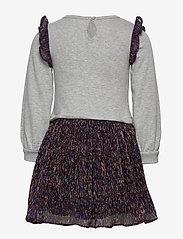 GAP - Toddler Shimmer Mix-Media Dress - jurken - b10 grey heather - 1