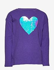 GAP - Kids Interactive Graphic T-Shirt - lange mouwen - ultraviolet 18-3838 tc - 1