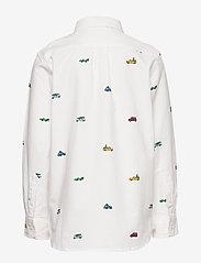 GAP - Kids Oxford Button-Down Shirt - overhemden - new off white - 1