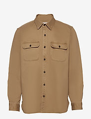 GAP - Lightweight Shirt Jacket - tops - khaki twill - 0