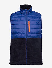 GAP - Mix-Fabric Sherpa Vest - vesten - bodega bay - 1