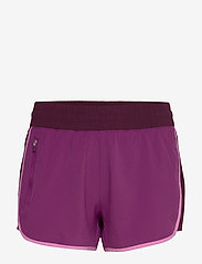 GAP - GapFit Colorblock Shorts - træningsshorts - purple wine - 0