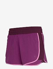 GAP - GapFit Colorblock Shorts - spodenki treningowe - purple wine - 2