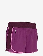 GAP - GapFit Colorblock Shorts - spodenki treningowe - purple wine - 3