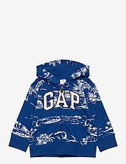 GAP - FT AO NOVELTY FZ LOGO - hættetrøjer - admiral blue - 0