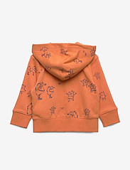 GAP - FT AO NOVELTY FZ LOGO - hættetrøjer - neon dark orange - 1