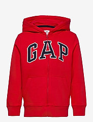GAP - V-NEW FZ GAP ARCH HOOD - kapuzenpullover - pure red v2 - 0