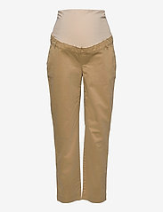 GAP - Maternity Full Panel Khaki Straight - mom-jeans - mojave 235 - 0