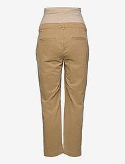 GAP - Maternity Full Panel Khaki Straight - mom-jeans - mojave 235 - 1