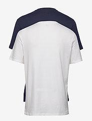GAP - V-BASIC ARCH 2 PACK - t-shirts à manches courtes - blue/white-f - 2