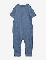 GAP - Baby Graphic One-Piece - kurzärmelig - indigo heather b8985 - 1