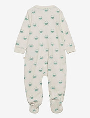 GAP - Baby Organic Footed One-Piece - langärmelig - ivory frost - 1