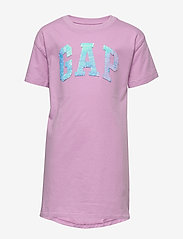GAP - FR FLP ARCH DRS - robes - purple orchid - 1