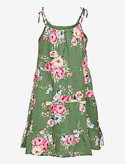 GAP - Girls Tiered Floral Dress - kleider - twig - 1