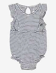 GAP - Baby Ruffle Bubble One-Piece - kurzärmelige - dutch blue - 0