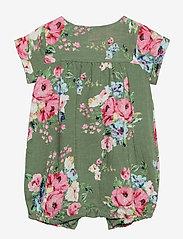GAP - Baby Floral Shorty - krótki rękaw - twig - 1