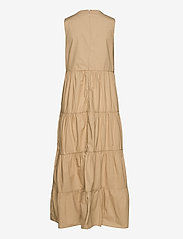GAP - Sleeveless Tiered Maxi Dress - everyday dresses - new sand - 1