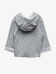 GAP - Baby Favorite Reversible Bear Hoodie Sweatshirt - kapuzenpullover - light grey marle - 2