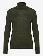 GAP - Merino Turtleneck Sweater - turtlenecks - forest green - 0