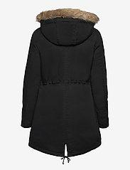 GAP - V-SHERPA PARKA - parka coats - true black v2 2 - 1