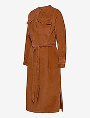 GAP - LS CORD SHIRTDRESS - everyday dresses - chestnut 616 - 2