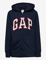 GAP - FT NEW ARCH FZ - hoodies - tapestry navy - 0