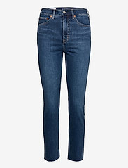 GAP - High Rise Cigarette Jeans with Secret Smoothing Pockets With - slim jeans - dark indigo 10 - 0