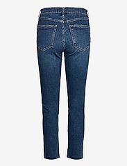 GAP - High Rise Cigarette Jeans with Secret Smoothing Pockets With - slim jeans - dark indigo 10 - 1