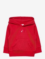 GAP - Toddler Gap Logo Hoodie Sweatshirt - kapuzenpullover - modern red 2 - 0