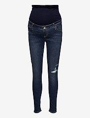 GAP - Maternity Full Panel Favorite Jeggings - mom-jeans - medium destroy - 0