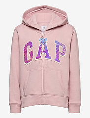 GAP - Kids Flippy Sequin Gap Logo Hoodie - kapuzenpullover - pure pink - 1