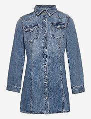 GAP - Kids Denim Dress - kleider - medium wash - 0