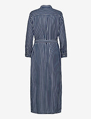GAP - LS DRAPEY SHIRTDRS -STP - everyday dresses - blue stripe combo s - 1